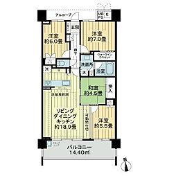 星ヶ丘駅 14.9万円