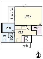 仮)シャーメゾン神村町[2階]の間取り