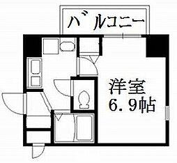 エイペックス京都新京極1[7階]の間取り