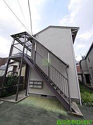 東京都新宿区横寺町の賃貸アパートの外観