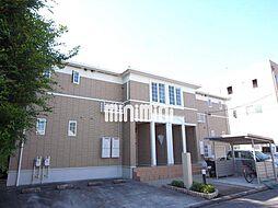 愛知県名古屋市中川区三ツ屋町2丁目の賃貸アパートの外観