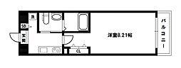 ウインズコート新大阪[7階]の間取り