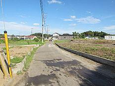 敷地北側の4.5m公道