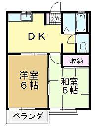 ウイム一番館[1階]の間取り