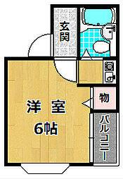 第5浜田ビル[2階]の間取り