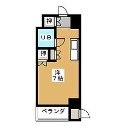 サンコート上前津[6階]の間取り