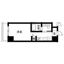 メゾン川崎西口通[503号室]の間取り