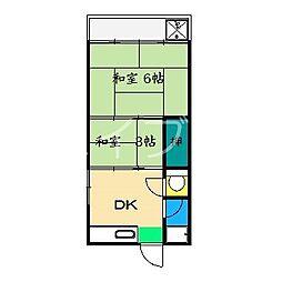 パンダいっく[3階]の間取り