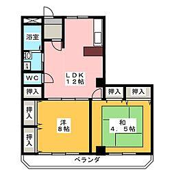 MO−VII[2階]の間取り