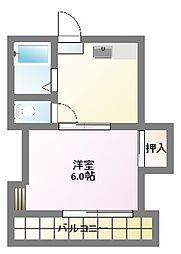第3富岡荘[1階]の間取り