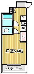 第二テーオーレジデンス[3階]の間取り
