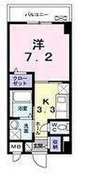 リバーコート浅香[1階]の間取り