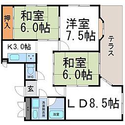 Collection塚口本町[1階]の間取り