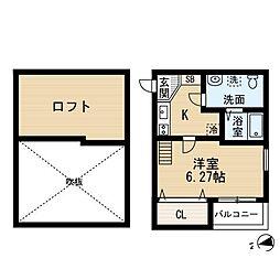 シュプリームメゾンA[1階]の間取り