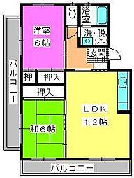 ロイヤルコーポ神田[1階]の間取り