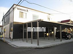 Wisteria A[2階]の外観