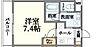 間取り,1K,面積23.4m2,賃料6.3万円,JR大阪環状線 京橋駅 徒歩14分,Osaka Metro長堀鶴見緑地線 大阪ビジネスパーク駅 徒歩10分,大阪府大阪市城東区鴫野西2丁目8-6