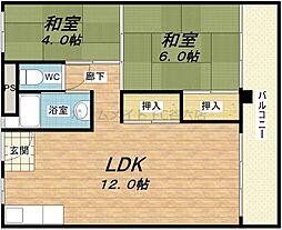 新谷町第3ビル[7階]の間取り
