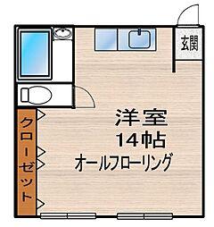春吉アクアビル[2階]の間取り