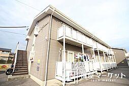 愛知県豊田市金谷町7丁目の賃貸アパートの外観