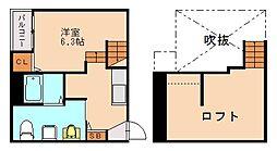 オルサフィオーレ[2階]の間取り