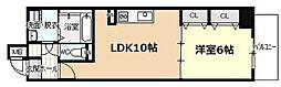 愛知県名古屋市中川区山王3丁目の賃貸マンションの間取り