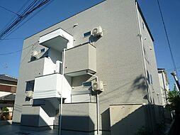 フォンテンブロー初芝[2階]の外観