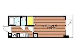 エスパシオ西新宿 初台駅5分都庁前10分と便利な立地[1階]の間取り