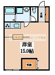 センターコート・アネックス[2階]の間取り
