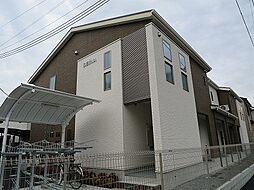 大阪府茨木市上泉町の賃貸アパートの外観