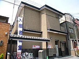 京都府京都市中京区姉大宮町西側の賃貸アパートの外観