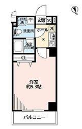 JR京浜東北・根岸線 上中里駅 徒歩6分の賃貸マンション 1階1Kの間取り