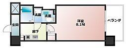 エコロジー京橋レジデンス[5階]の間取り