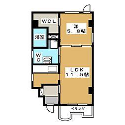 DO DO HOUSE[2階]の間取り