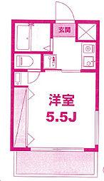 月村マンションNo17[1階]の間取り