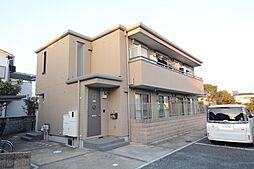 兵庫県伊丹市山田6丁目の賃貸アパートの外観