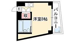 名藤マンション[201号室]の間取り