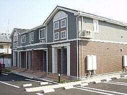 愛媛県松山市天山2丁目の賃貸アパートの外観