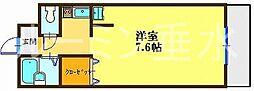 コミュニス西神戸[1階]の間取り