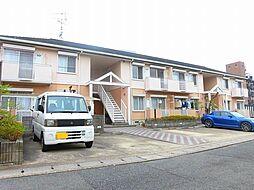 京都府京都市左京区修学院大林町の賃貸アパートの外観