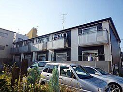 大阪府箕面市桜5丁目の賃貸アパートの外観