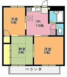 レジデンスミヤハラ[2階]の間取り