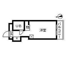 トップ曳舟第1[4階]の間取り