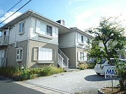 滋賀県大津市木下町の賃貸アパートの外観