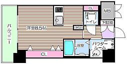 プリエ梅田[9階]の間取り
