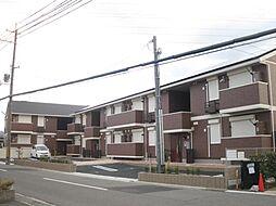 大阪府泉佐野市鶴原の賃貸アパートの外観