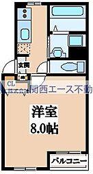 サニーサイド布施[2階]の間取り