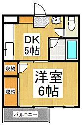 メゾン東大和[3階]の間取り