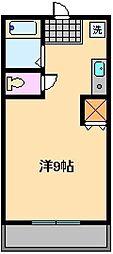島根マンション[2階]の間取り