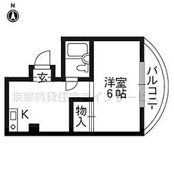 アビ−タサノ[304号室]の間取り
